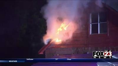 VIDEO: No injuries reported after home damaged in fire