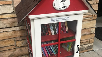 Thief steals Tulsa childcare center's community library