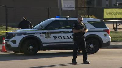 Officer shot in same area as a deadly shooting this morning