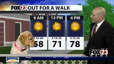 VIDEO: Tuesday's forecast