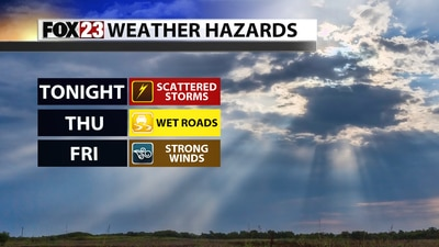 Showers and storms overnight