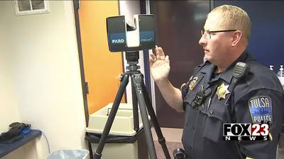 Tulsa police are certified for new 3D laser technology