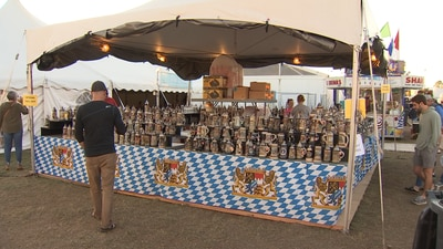 Sights from Oktoberfest's first day open to the public
