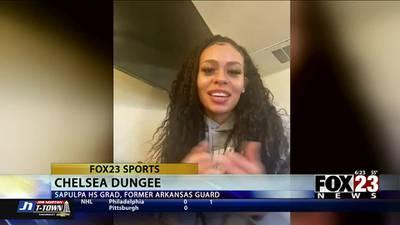 Sapulpa HS alum realizes WNBA dream: 'All I can do is smile'