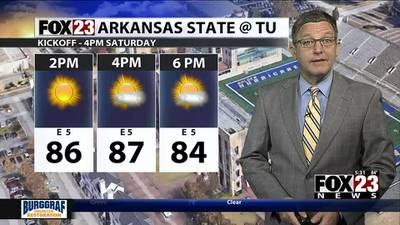 VIDEO: Friday Afternoon Forecast
