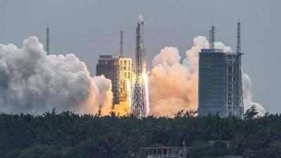 Chinese rocket debris hurtling toward Earth