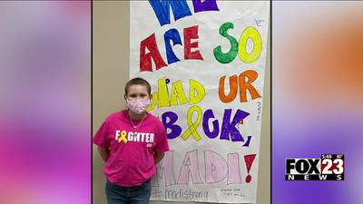 VIDEO: Owasso family shares story of 11-year-old daughter's cancer battle, thankful for St. Jude