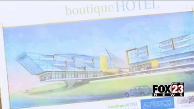 VIDEO: Developers break ground on new hotel in north Tulsa