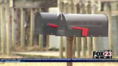 Sticky mail? USPS explains 'mail fishing' evidence found at Tulsa collection box