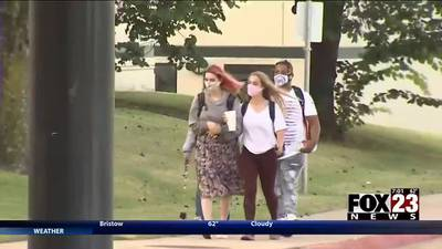 VIDEO: Mask requirements remaining at Tulsa Public Schools