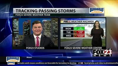 VIDEO: Sunday night forecast