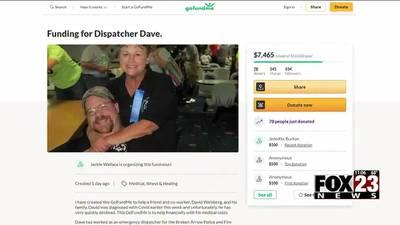 VIDEO: Broken Arrow dispatcher battles COVID-19, friends start GoFundMe for support