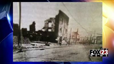 VIDEO: Ground broke on the Stradford 21 Boutique Hotel, named after the hotel that was burned down in the Tulsa Race Massacre