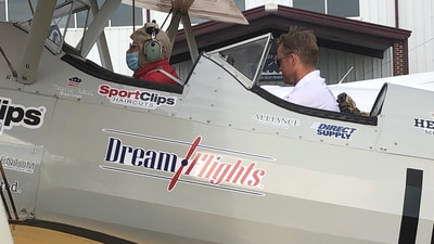 Photos: Dream Flight gives a once in a lifetime gift to a WWII veteran