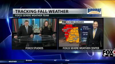 VIDEO: Monday's forecast