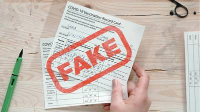 Oklahoma Health Department warns that fake vaccine cards are illegal, dangerous to others