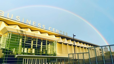 Photos: Rainbow emerges in Green Country after the storm