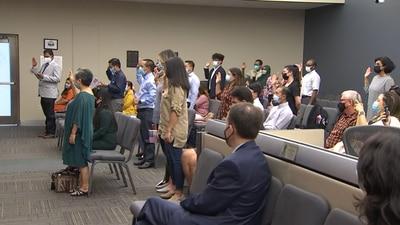 Photos: City of Tulsa hosts naturalization ceremony for 21 new Americans