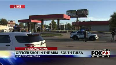 TPD officer in stable condition after south Tulsa shooting
