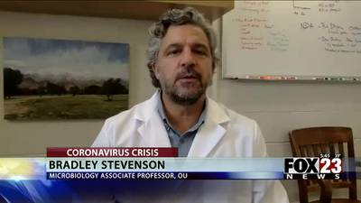 OU researchers looking to use wastewater to stop spread of COVID-19