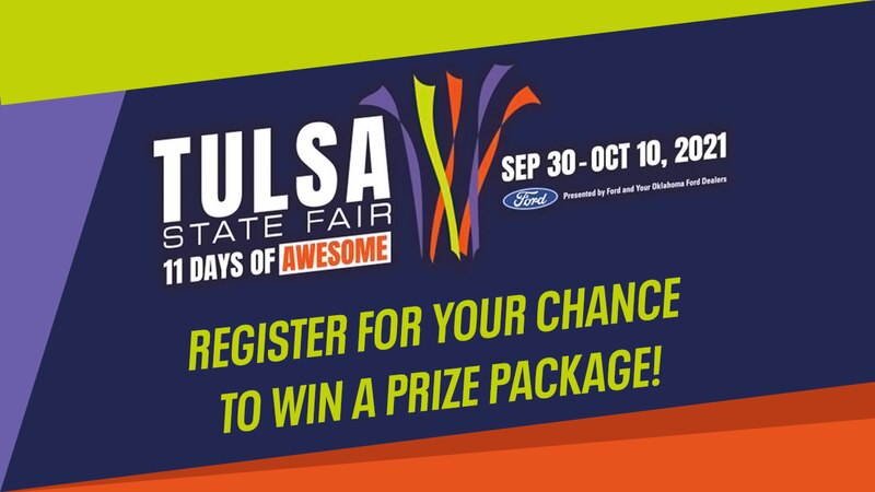 Tulsa State Fair - Register for your chance to win a prize package!