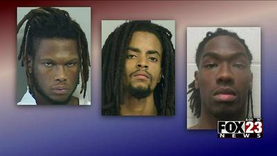 Three suspects arrested in connection to several Tulsa dispensary robberies