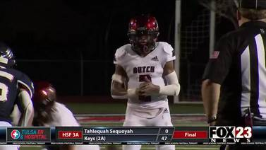WATCH: Holland Hall knocks off Metro Christian in FOX23 Game of the Week