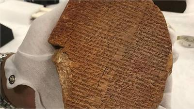 Hobby Lobby returning ancient tablet to Iraq