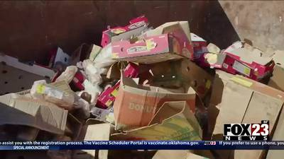 Piles of food left out in north Tulsa: Have they been picked up?