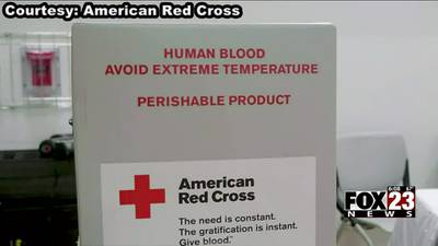 VIDEO: Blood supply at Tulsa's American Red Cross at the lowest point in years