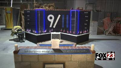 Tulsa Tech students pay tribute to 9/11 victims