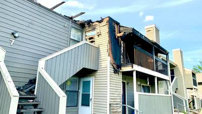 Several Muskogee families without a home after large apartment fire