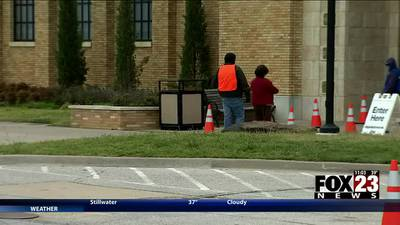 VIDEO: Tulsa Health Department holds final COVID-19 vaccinations at fairgrounds