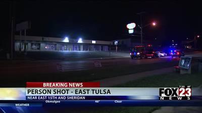 VIDEO: Woman shot in the leg outside Tulsa club