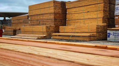 Looking to build a new home? Lumber shortage could make it costly