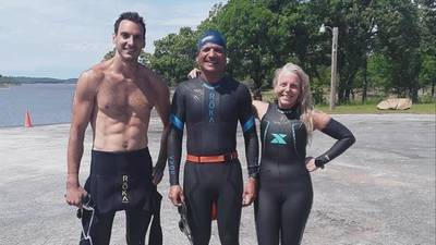 Tulsa dentist learned to swim for Ironman