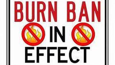 Creek County issues a burn ban