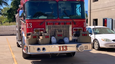 Tulsa Fire Department receives body armor donations