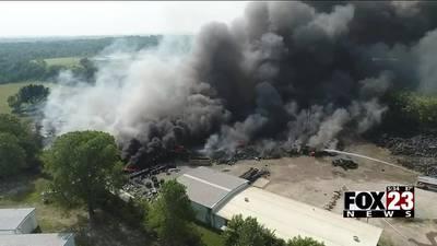 DEQ suspends Bristow tire plant's permit after massive fire