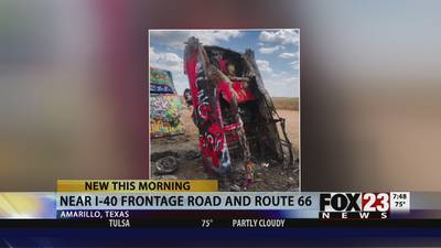 ICON TARGETED: Route 66 landmark targeted by arsonist