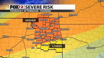Thursday Storms Will Bring a Severe Weather Threat