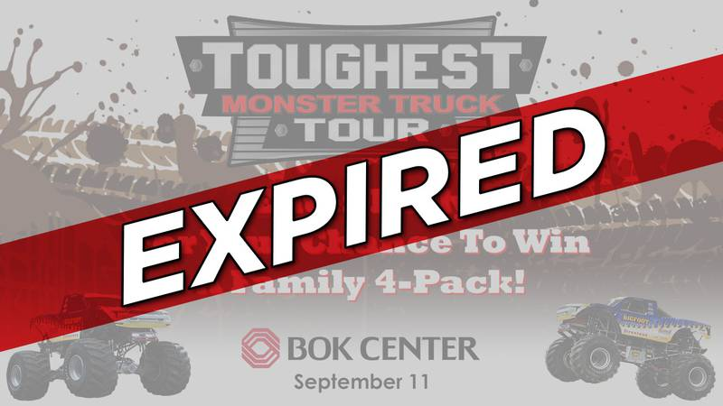 Toughest Monster Truck Tour Ticket Giveaway - EXPIRED