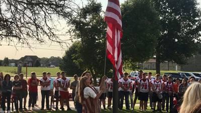 Stigler High School holds Freedom Flag ceremony