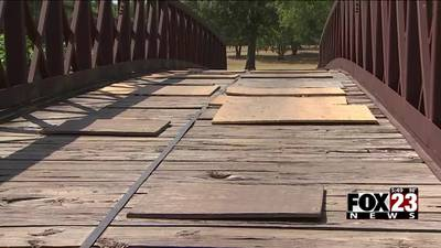VIDEO: Golfers share concerns of dangerous bridges at Tulsa golf course