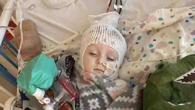Tulsa toddler battling spinal meningitis now partially deaf