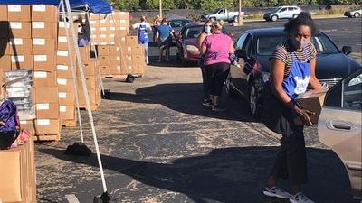 Food On The Move drive-thru distributions coming to an end, plans to return to in-person events