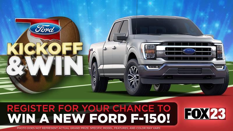 Oklahoma Ford Kickoff & Win Sweepstakes 2021