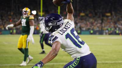 Tulsa native and NFL wide receiver Tyler Lockett honors his hometown