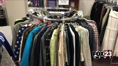 VIDEO: Dress For Success Tulsa organization hosts an open sale to raise money