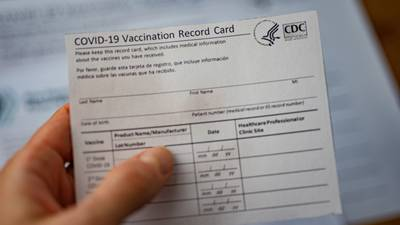 Tips from local health leaders once your vaccine card is filled out